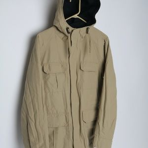 SOLD UniQlo Jacket Beige Light Weight Utility